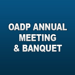 2013 OADP annual mmeting and banquet