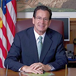 Governor Daniel Malloy signs the Connecticut bill to replace the death penalty with an alternative punishment