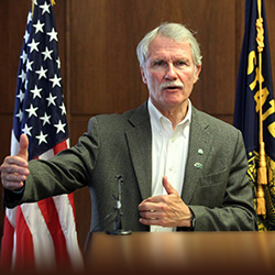 Kitzhaber's invitation to listen as well as talk about the death penalty