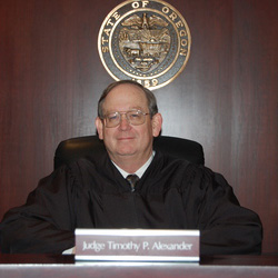 Oregon State Senior Judge Timothy P. Alexander