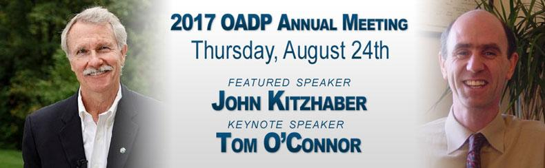 2017 OADP Annual Dinner Meeting